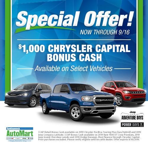 Chrysler Jeep Dodge Ram Dealer Tunkhannock PA | Tunkhannock